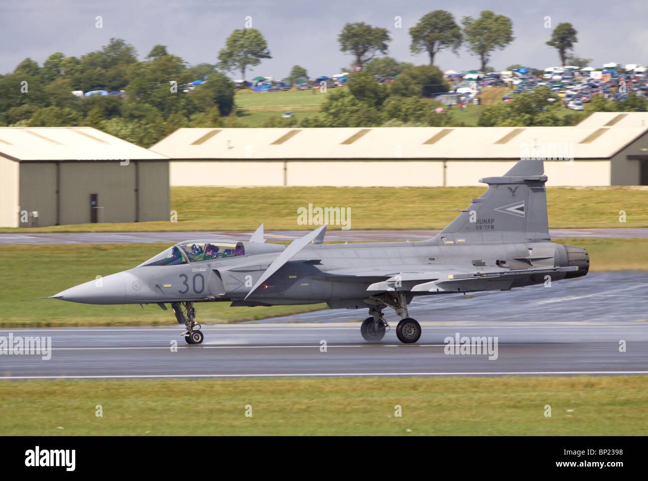 39301 Hungarian Air Force SAAB JAS 39C Gripen - Stock Image