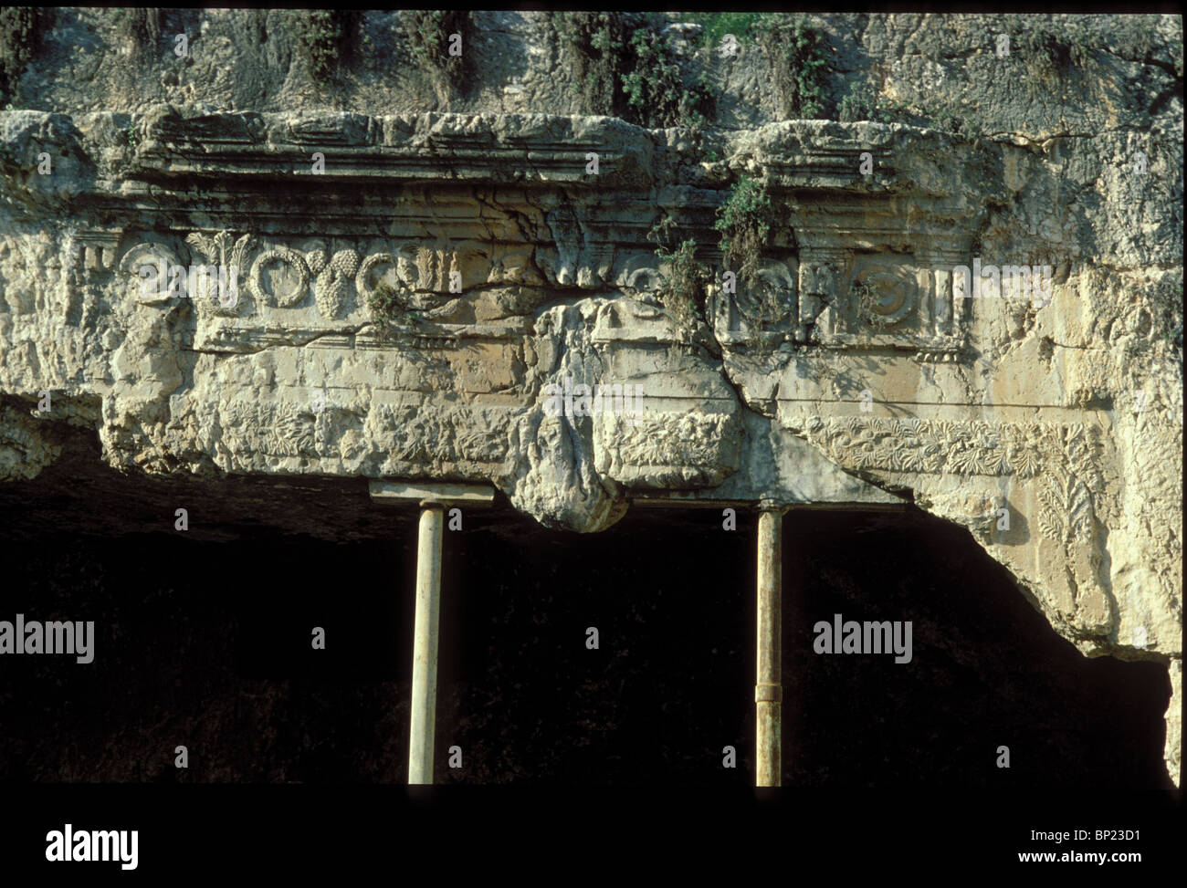169. TOMBS OF THE KINGS, ROCK HEWN TOMBS IN JERUSALEM BUILT IN THE IST. C. AD. BY QUEEN HELENA. - Stock Image