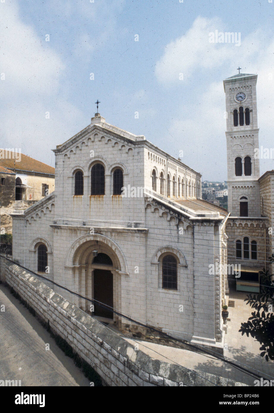 482. NAZARETH, CHURCH OF ST. JOSEPH - Stock Image
