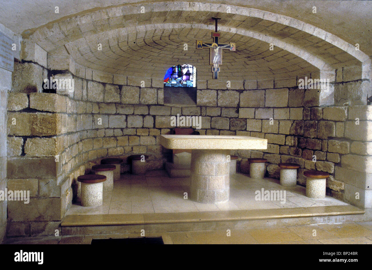 489 NAZARETH, CRYPT OF THE CHURCH OF ST. JOSEPH - Stock Image