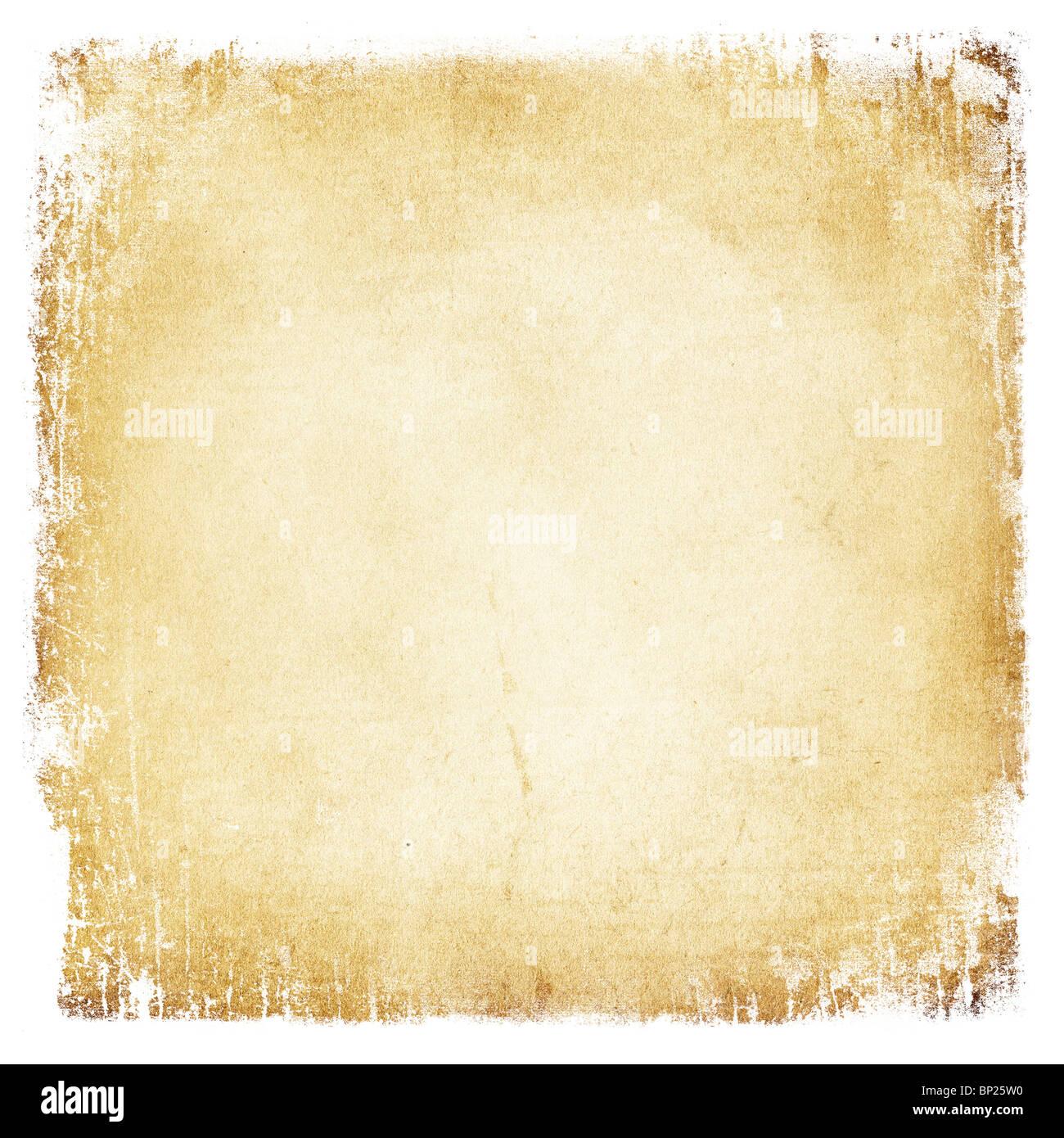 Grunge vintage paper background. - Stock Image
