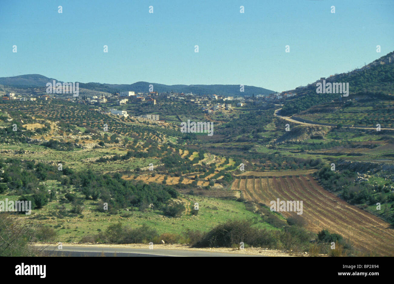1953. UPPER GALILEE, - Stock Image