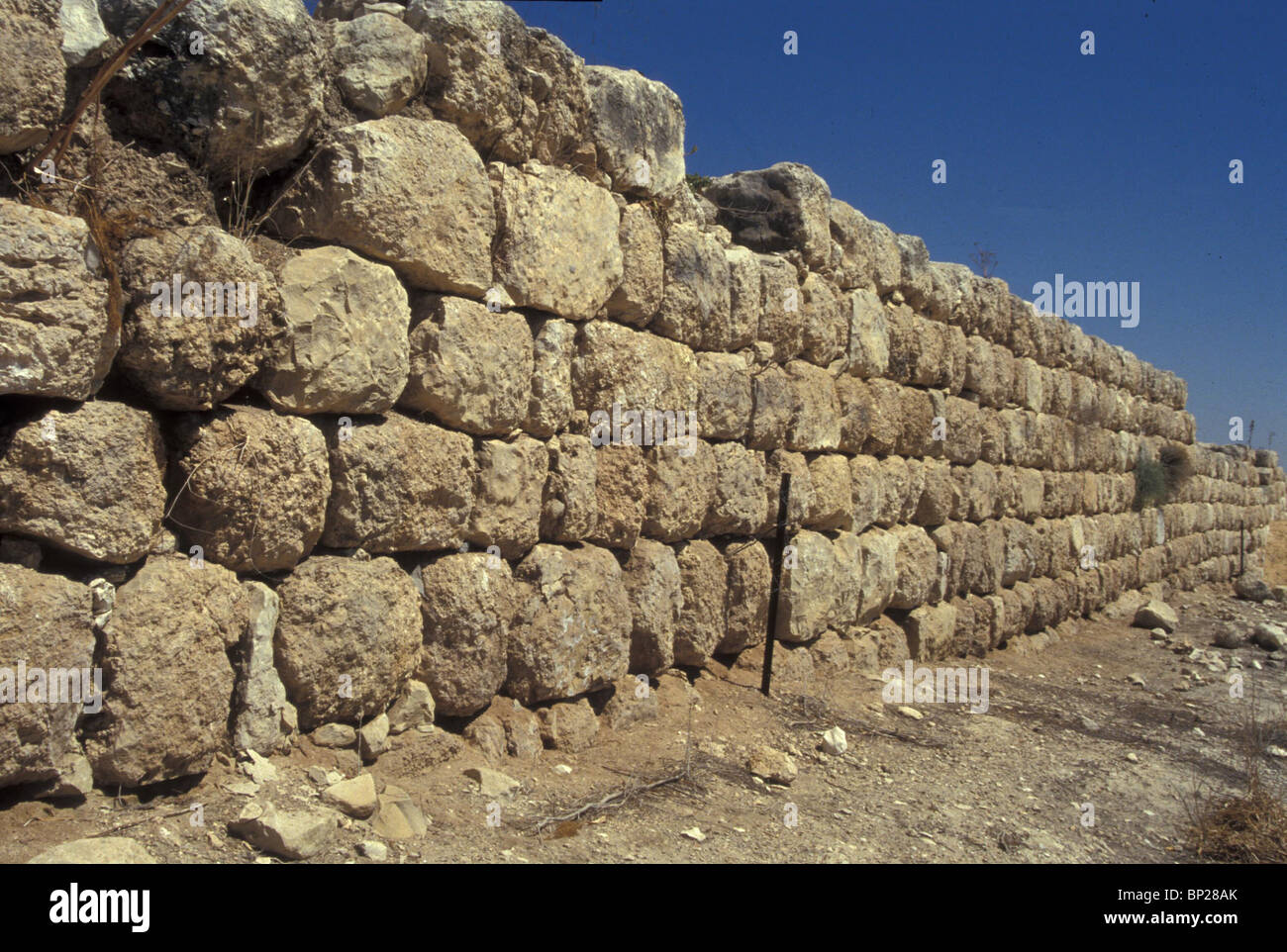 2003. LACHISH - THE CITY WALLS - Stock Image