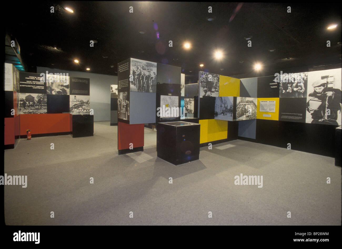 2379. YAD VASHEM - THE HISTORICAL MUSEUM DOCUMENTING THE HOLOCAUST THROUGH PHOTOGRAPHS, ARTIFACTS, DOCUMENTS ECT. - Stock Image
