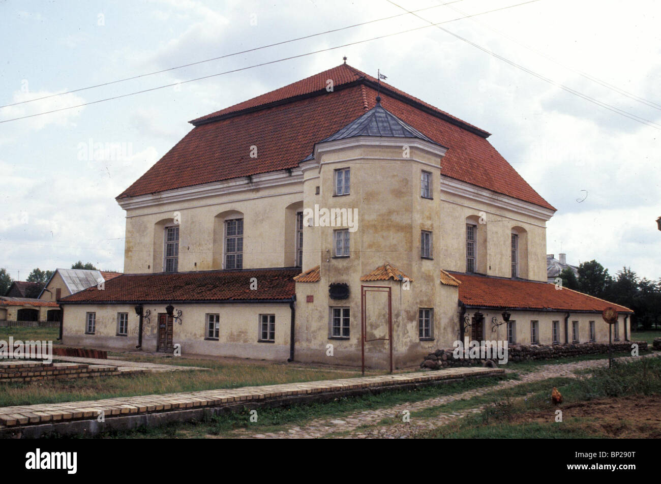 2463. THE TIKOCHIN SYNAGOGUE, POLAND, 18TH. C.
