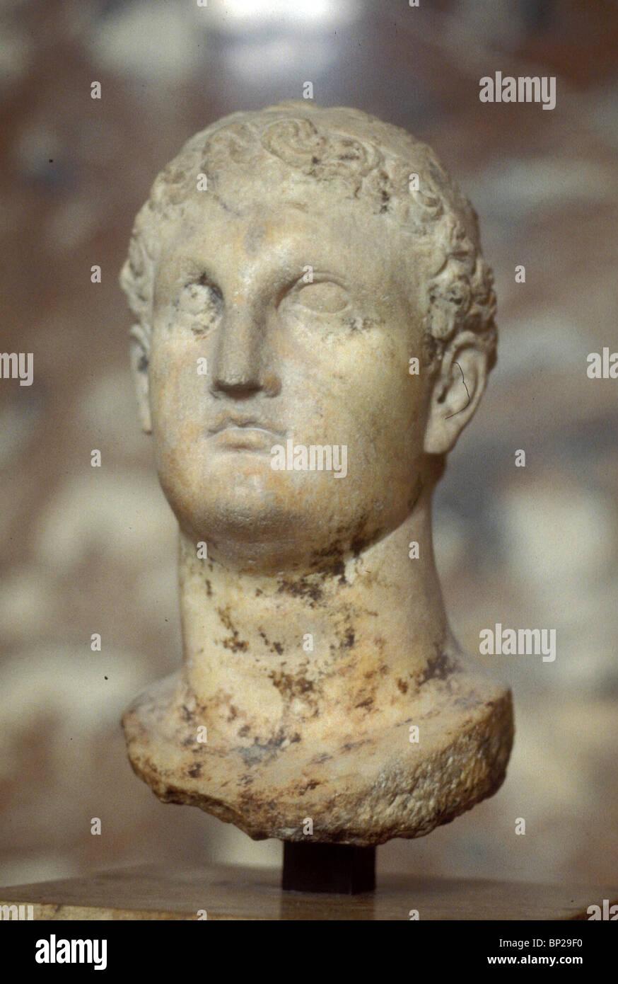 3008. PTOLEMY II. PHILADELPHUS, RULER OF EGYPT, KING FROM 282-246 B.C. - Stock Image