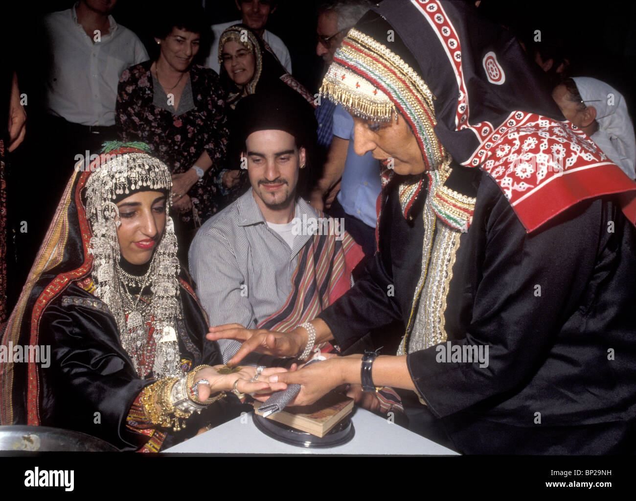 3223 The Yemenite Jewish Henna Ceremony Which Takes Place Before