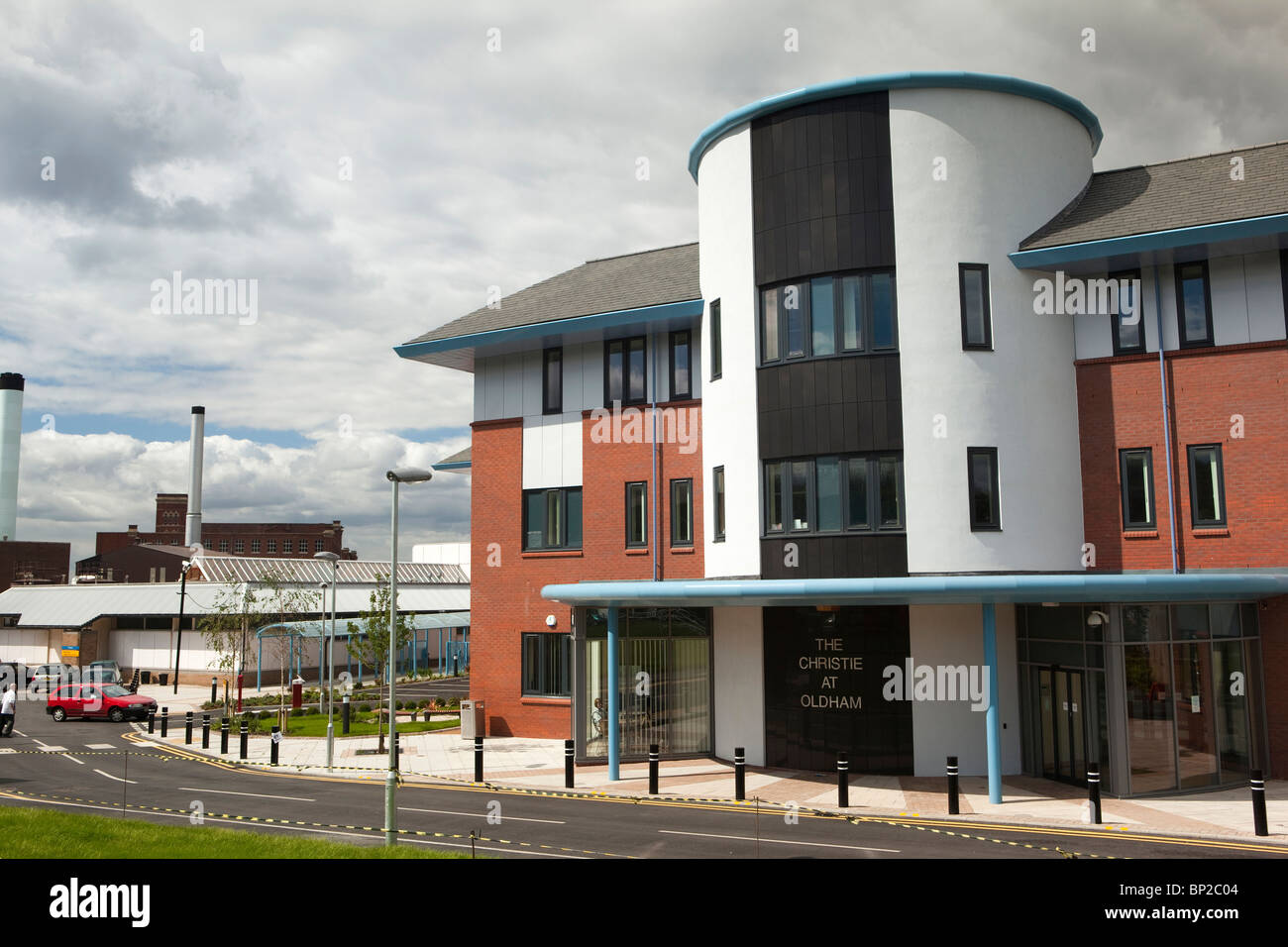 UK, England, Oldham, Royal Hospital, new Christie Radiotherapy cancer treatment centre - Stock Image