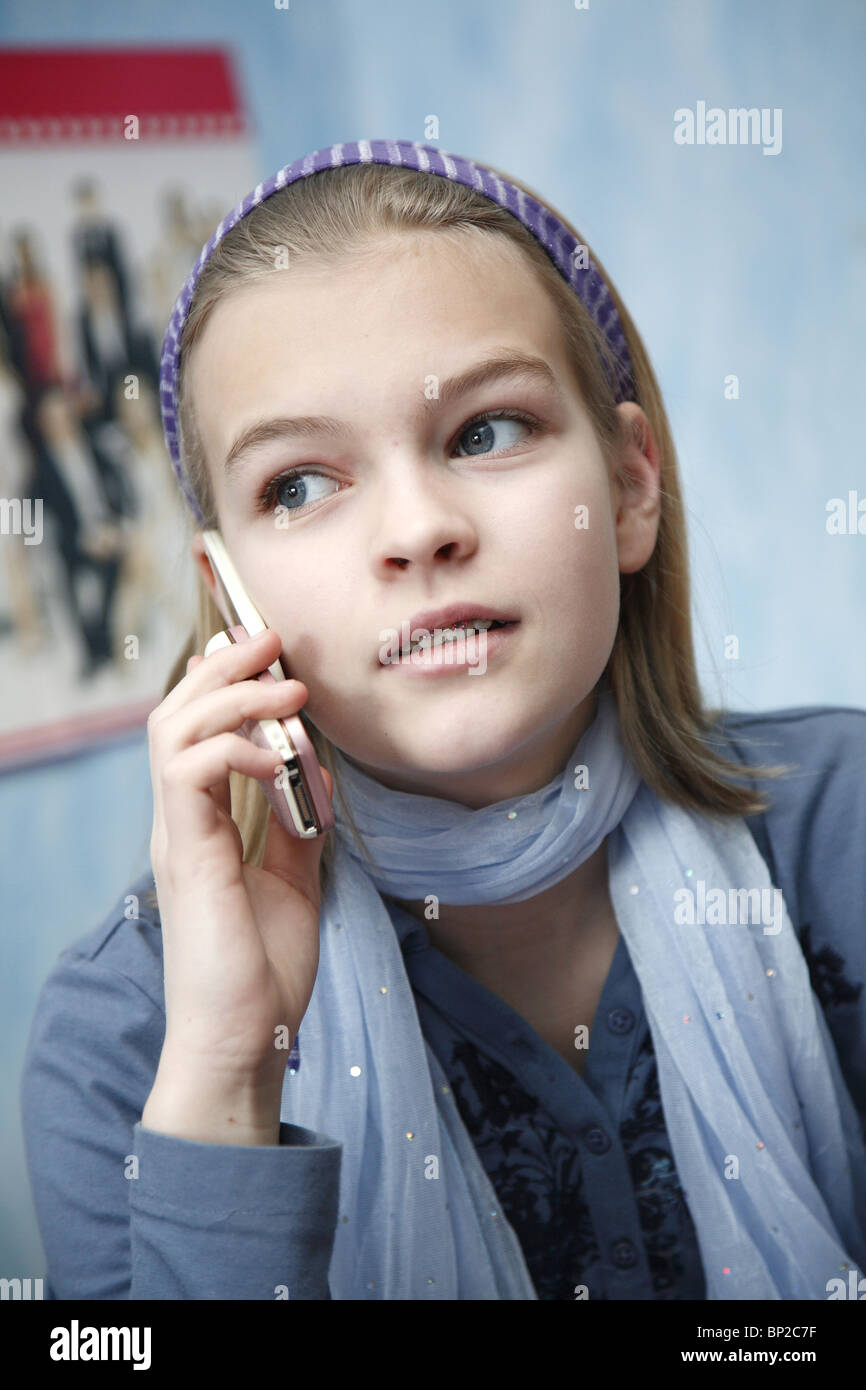 11 Year Old Girl Stock Photos & 11 Year Old Girl Stock