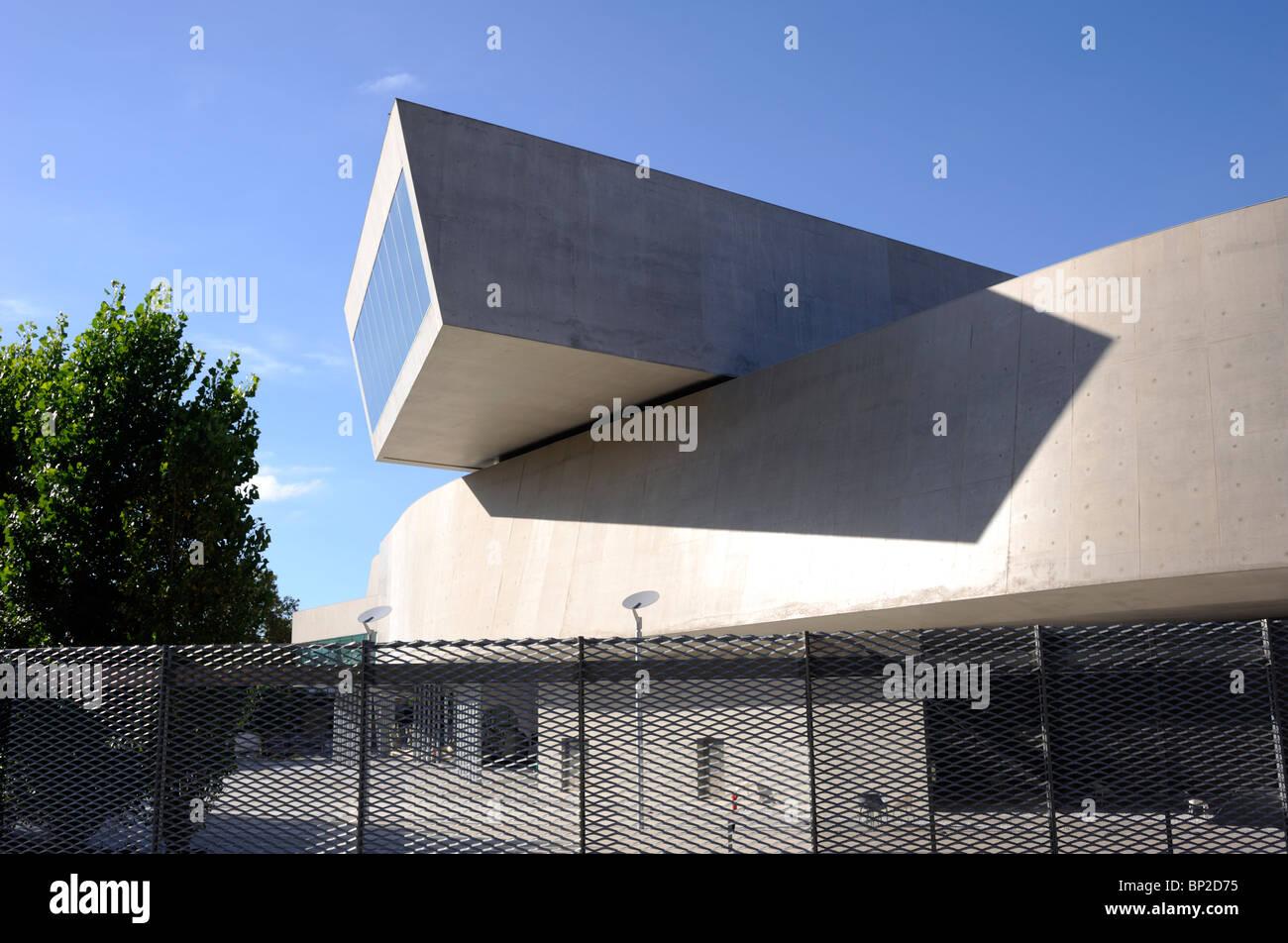 italy, rome, maxxi, national museum of contemporary art, architect zaha hadid Stock Photo