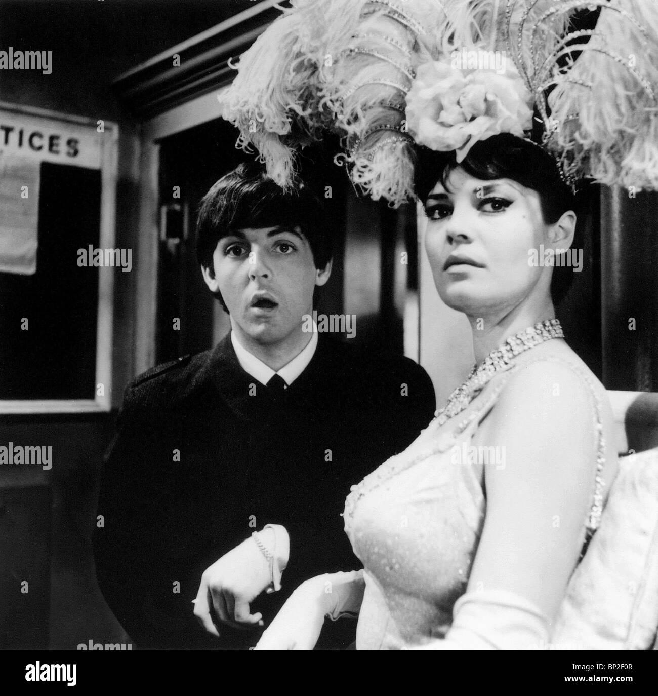 PAUL MCCARTNEY, ROSEMARIE FRANKLAND, A HARD DAY'S NIGHT, 1964 - Stock Image