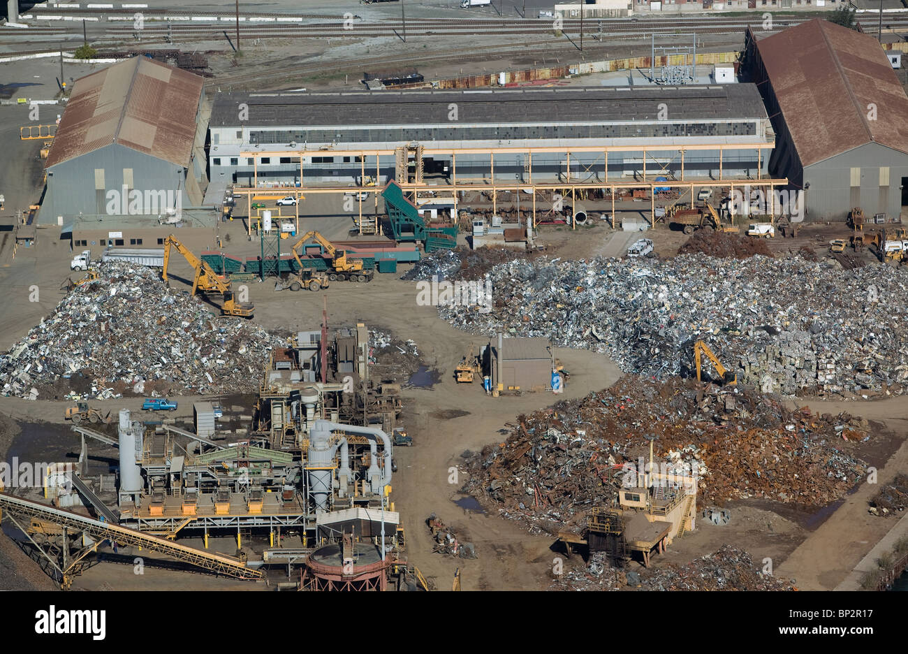 Auto Recycler Stock Photos Auto Recycler Stock Images Alamy - Schnitzer scrap yard