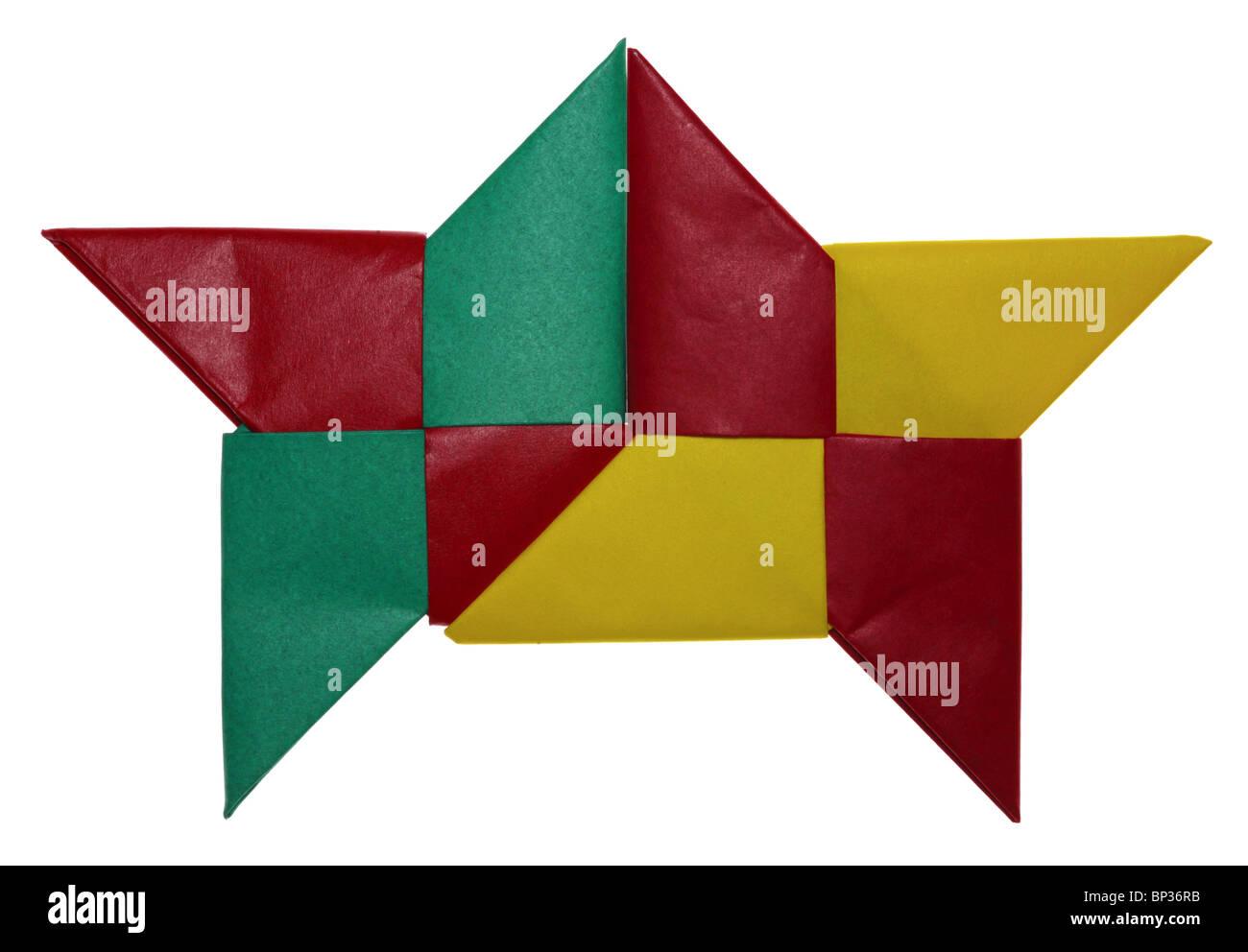 Origami Ninja Star | 992x1300
