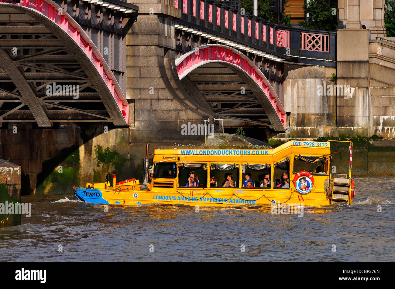 London Duck Tours - Stock Image