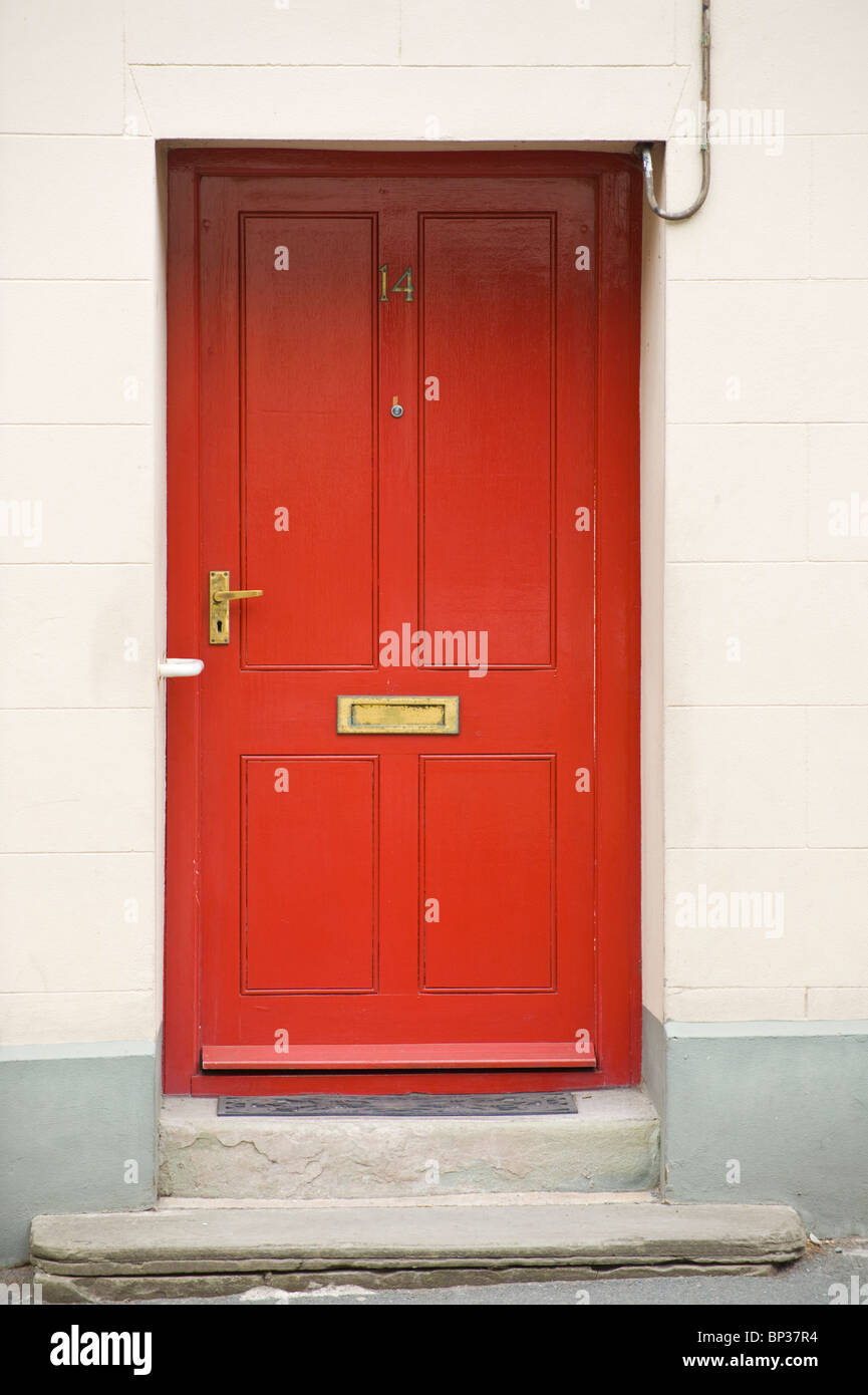 Letter Box Door Painted Front Door Stock Photos Letter Box Door