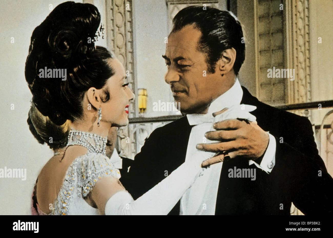 Audrey Hepburn Rex Harrison My Fair Lady 1964 Stock Photo Alamy
