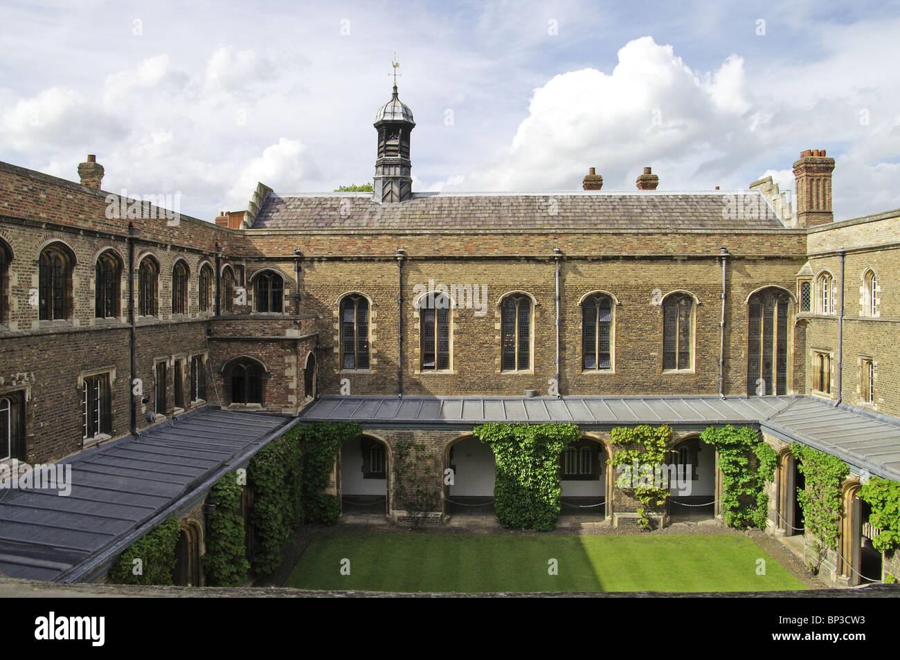 Cloister Court  Jesus College Cambridge - Stock Image