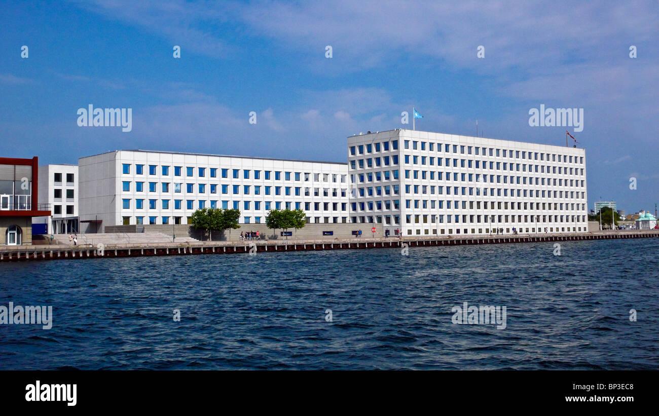 A.P. Møller - Mærsk A/S headquarters on Esplanaden in Copenhagen Denmark Stock Photo
