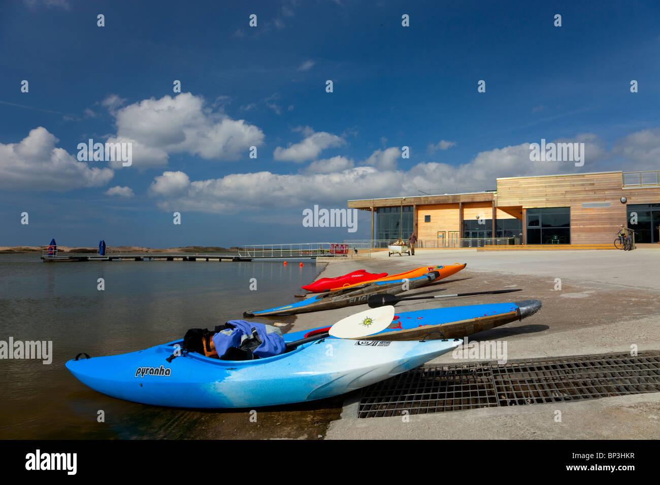 Crosby Lakeside Adventure Centre - Stock Image