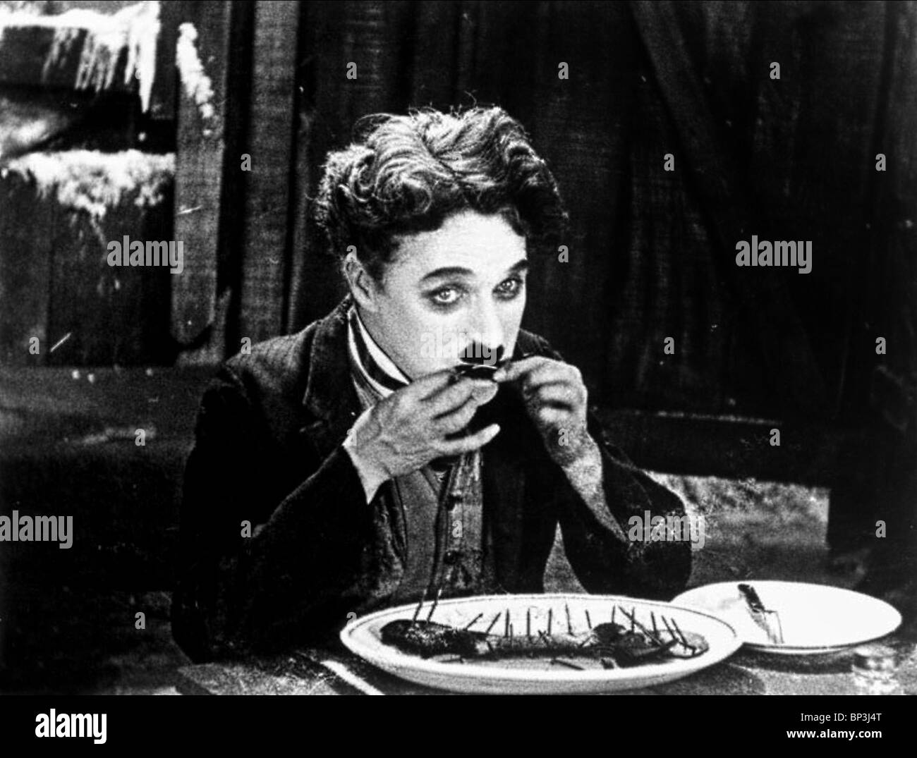 CHARLIE CHAPLIN THE GOLD RUSH (1925) - Stock Image