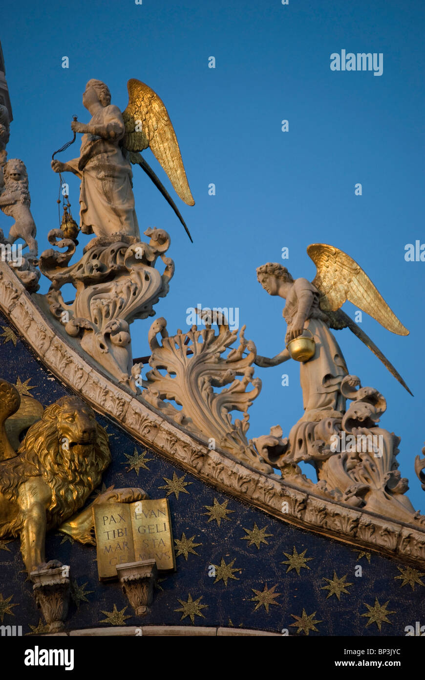 Angles of St Mark's Church - Stock Image