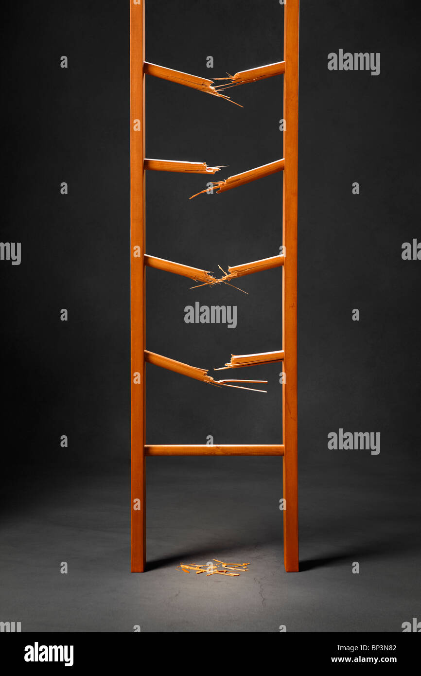 Broken Ladder Stock Photos Amp Broken Ladder Stock Images
