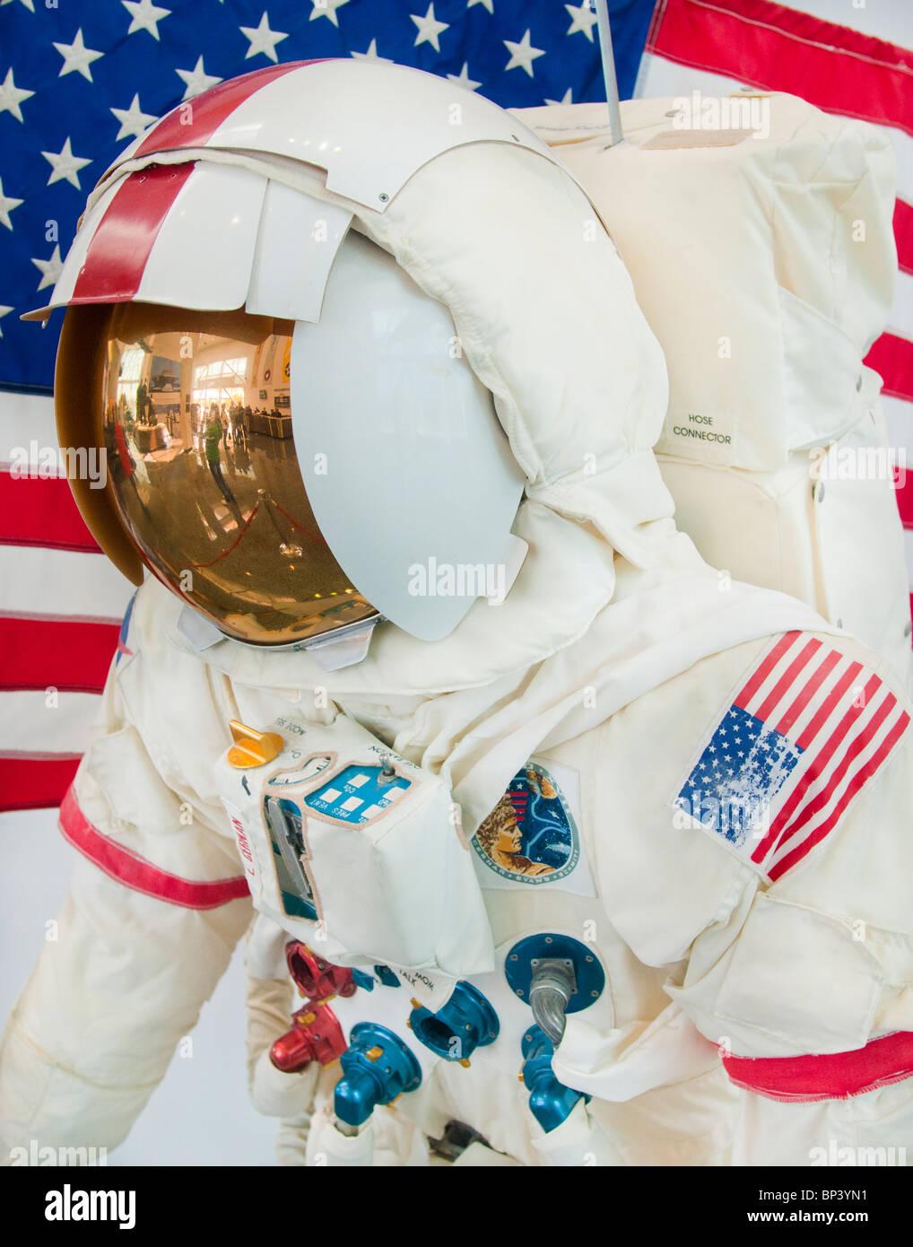 NASA Apollo Space Suit. - Stock Image
