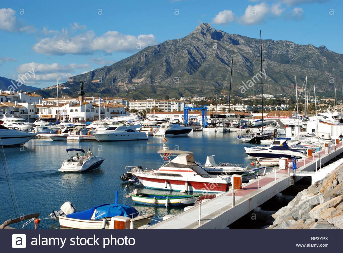 Marbella stock photos marbella stock images alamy for Puerto banus costa del sol