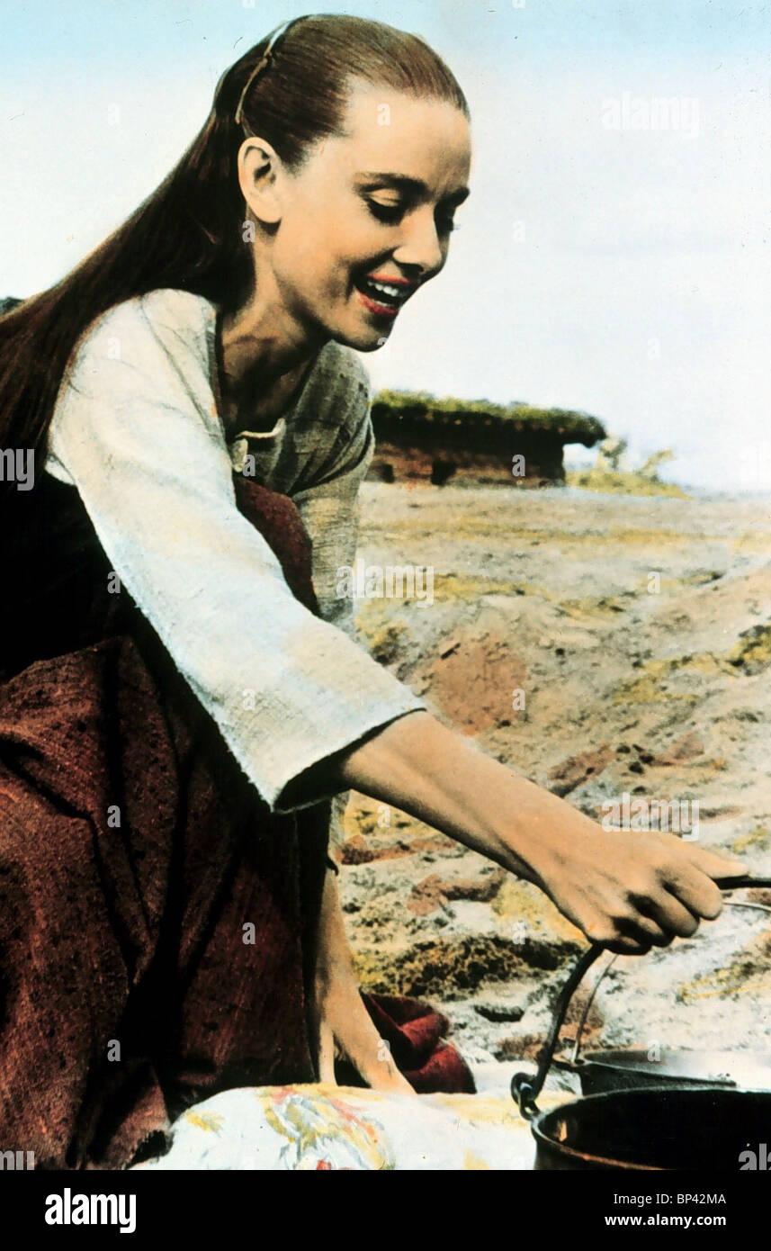 AUDREY HEPBURN THE UNFORGIVEN (1960) - Stock Image