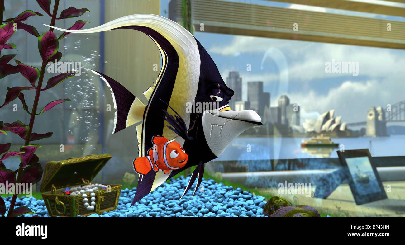 Nemo Gill Finding Nemo 2003 Stock Photo Alamy