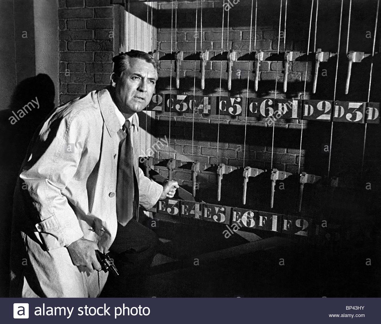 CARY GRANT CHARADE (1963) - Stock Image