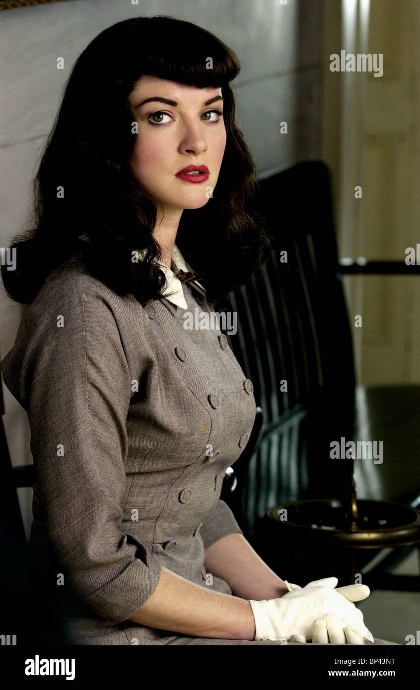 GRETCHEN MOL THE NOTORIOUS BETTIE PAGE (2005 Stock Photo