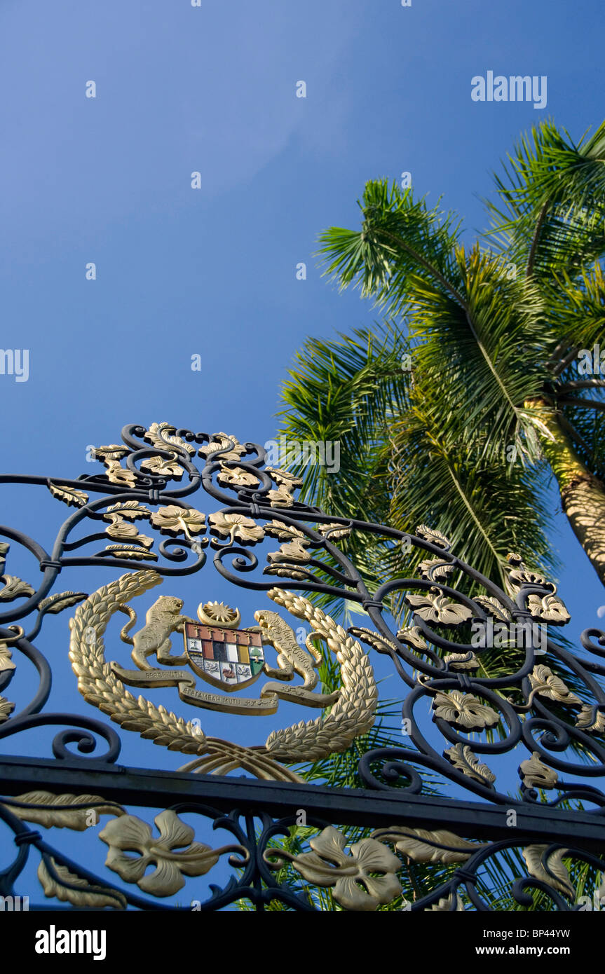 Malaysia State of Selangor Kuala Lumpur. The Royal Palace the official residence of the Malaysia's king. - Stock Image