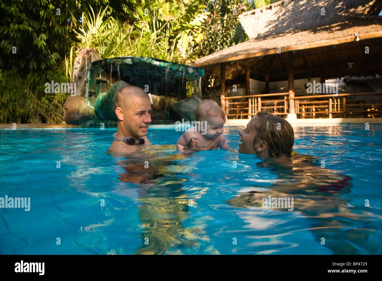 Pool resort atlantis stock photos pool resort atlantis - Hotels in dumaguete with swimming pool ...