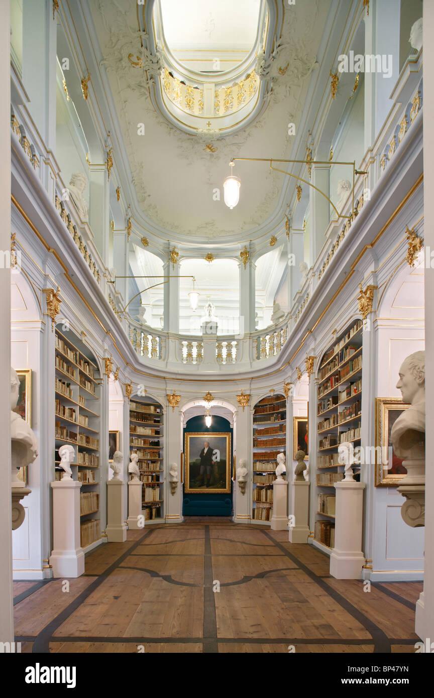 Duchess Anna Amalia Library, Weimar, Germany - Stock Image