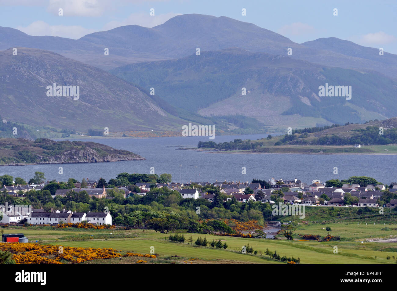 Ullapool, Loch Broom, Ross and Cromarty, Scotland, United Kingdom, Europe. - Stock Image