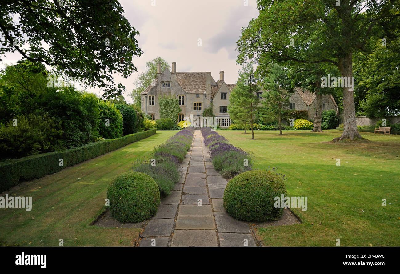 Avebury Manor 16th century manor house - Stock Image