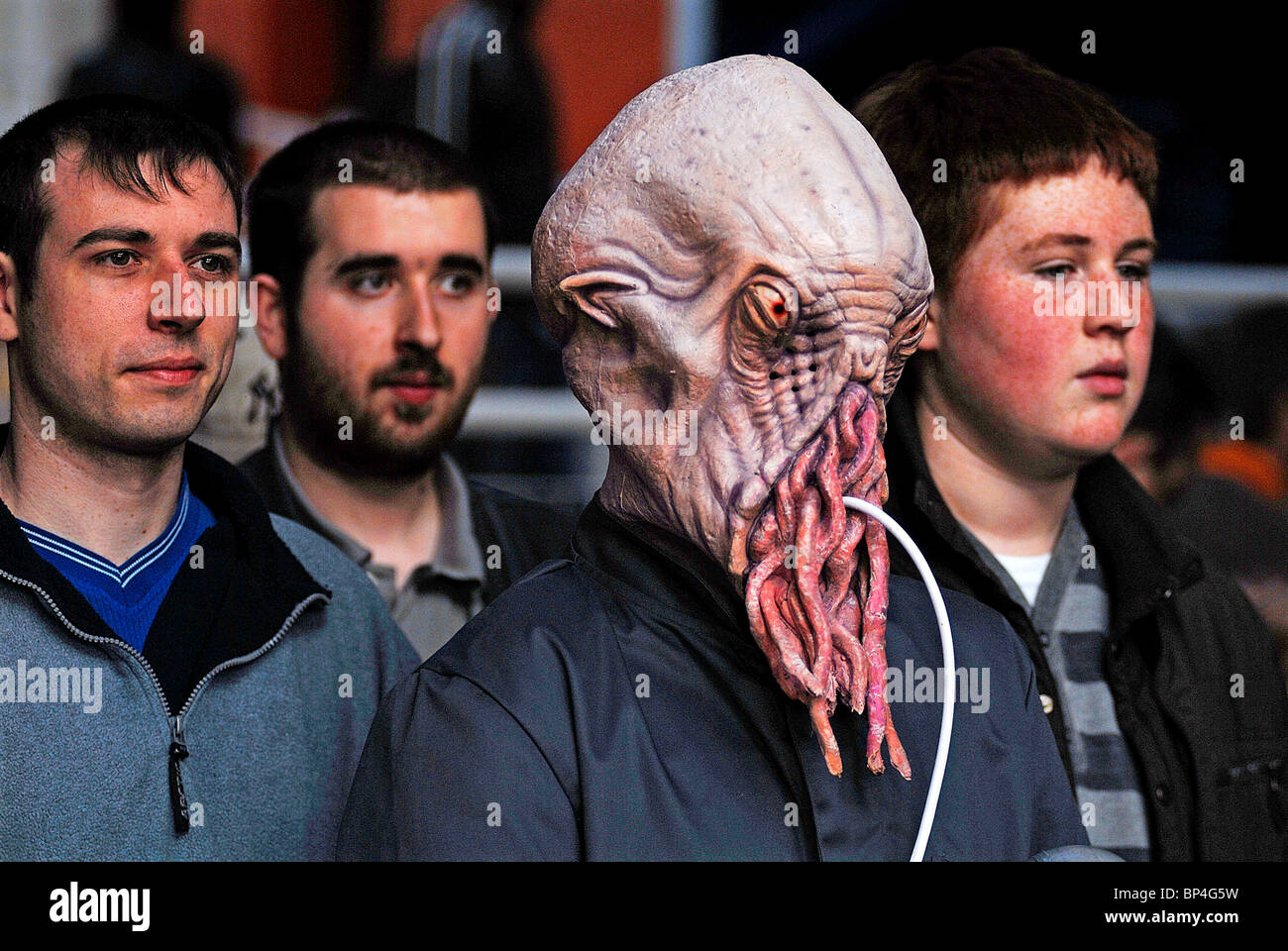 An Ood at the Dr Who exhibition in Manchester. - Stock Image