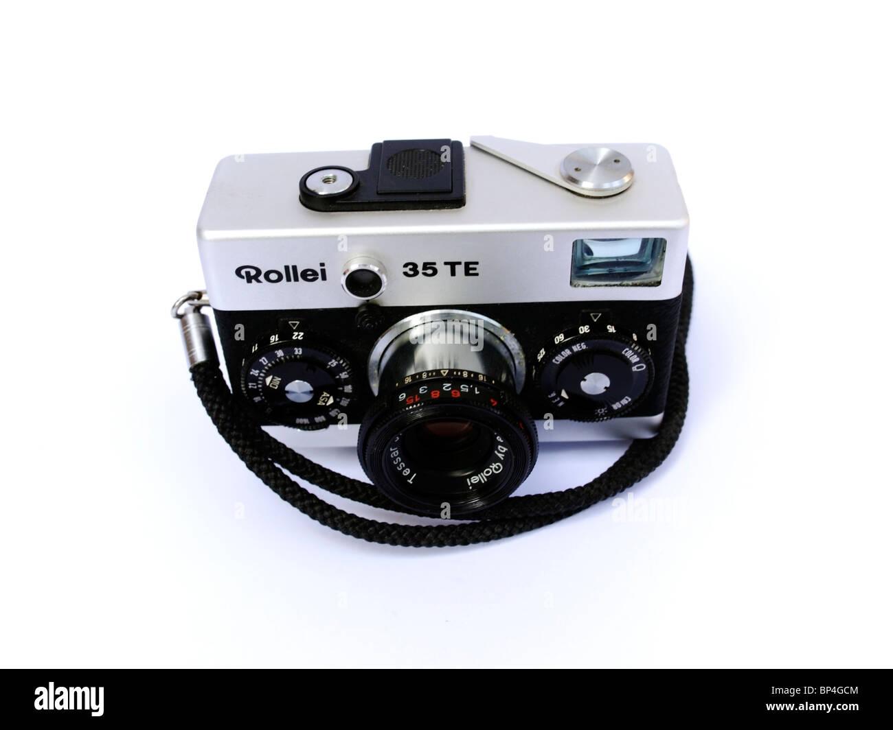 Classic cameras: Rollei 35 Stock Photo