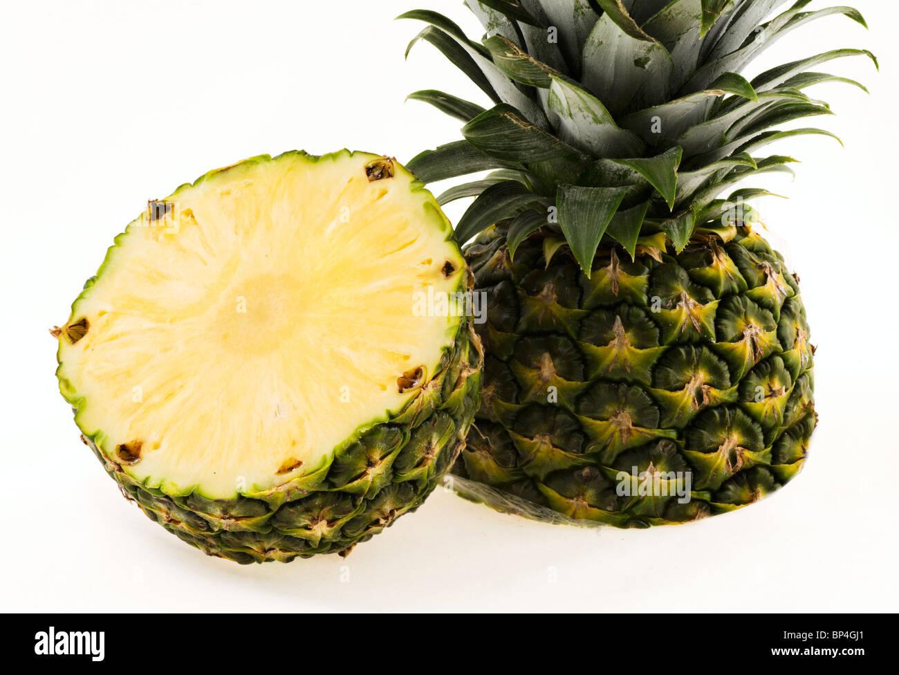 Pineapple (Ananas comosus) - Stock Image