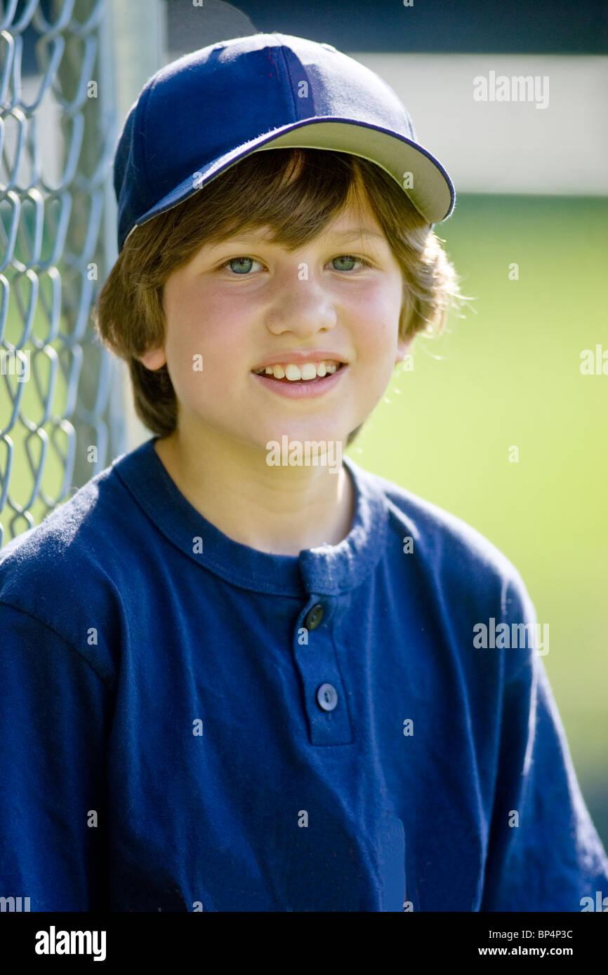 portrait of 12 year old boy baseball player stock photo 30837952