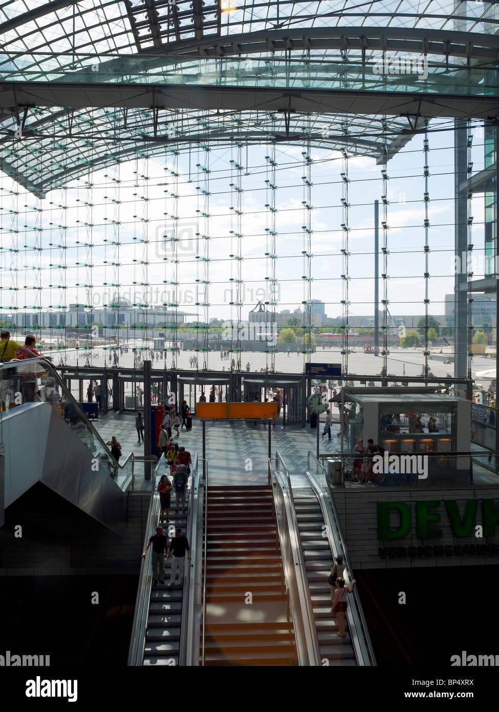 main station,Berlin,Germany - Stock Image