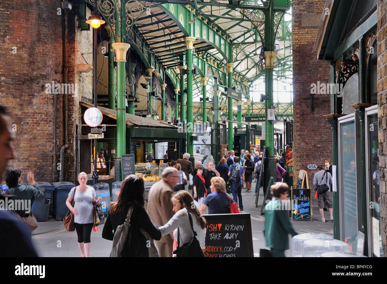 Borough Market ,Southwark ,London - Stock Image