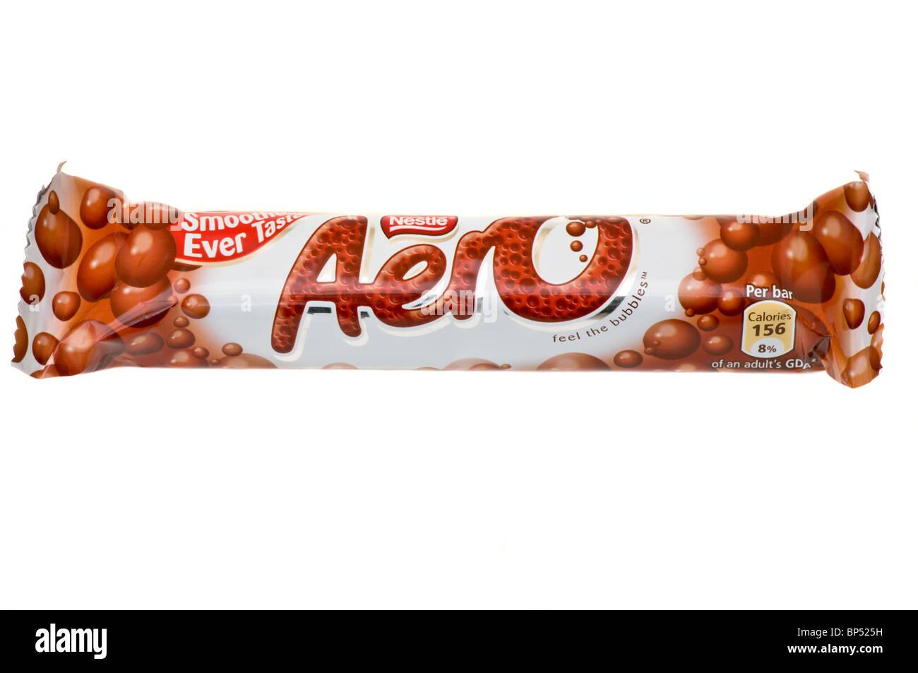 Nestle Aero Bar - Stock Image