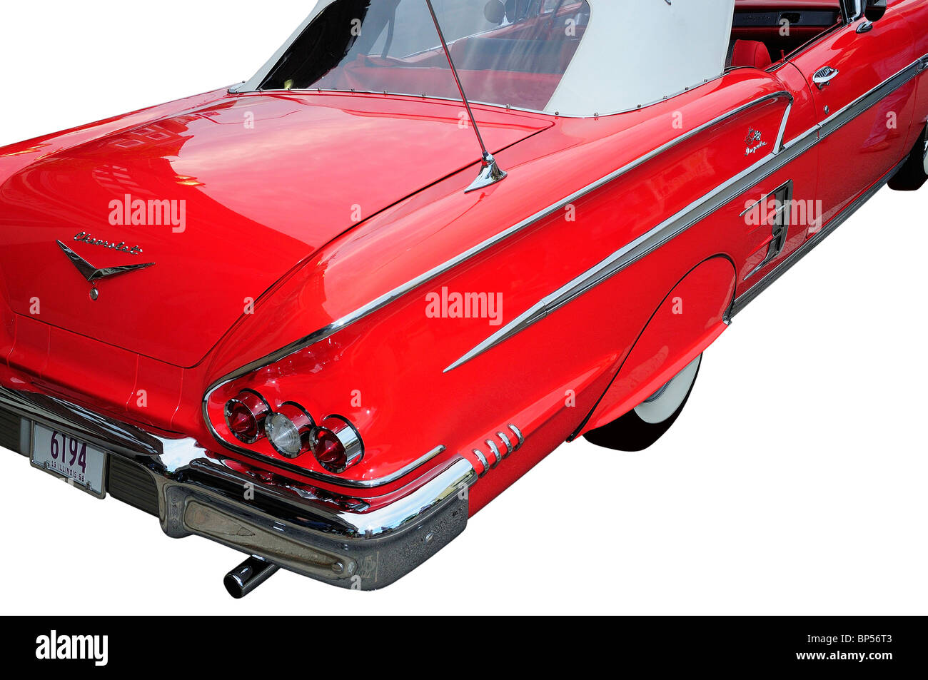 1958 Chevrolet Stock Photos Images Alamy 1957 Chevy Impala Convertible Rio Red Image