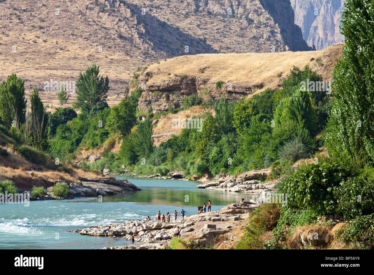 Scenery near Dohuk, Kurdistan, Iraq - Stock Image