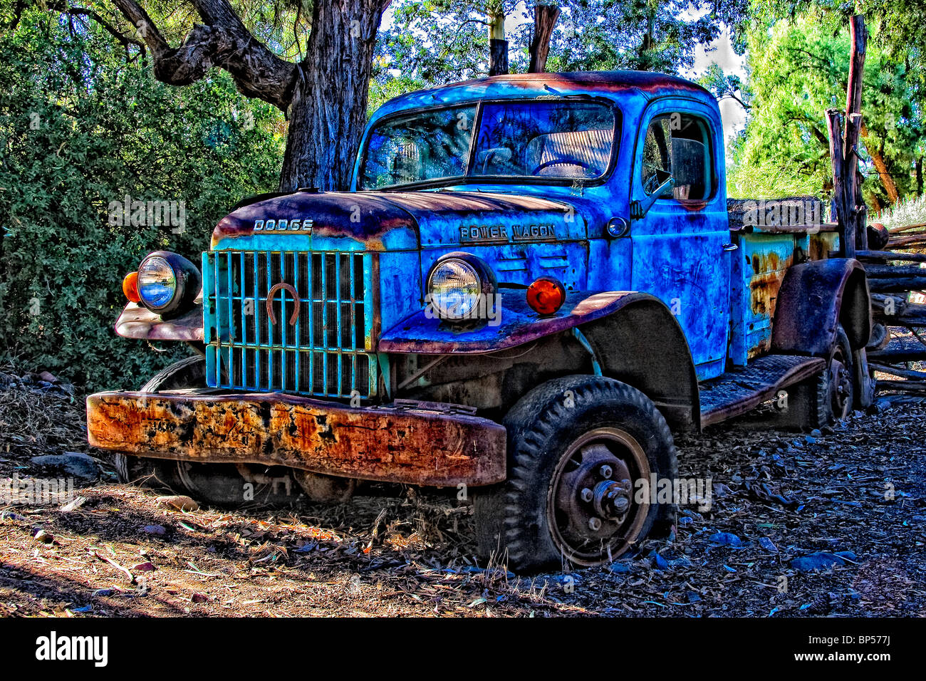 Old 4x4 Dodge Power Wagon Pickup Stock Photo: 30848262 - Alamy
