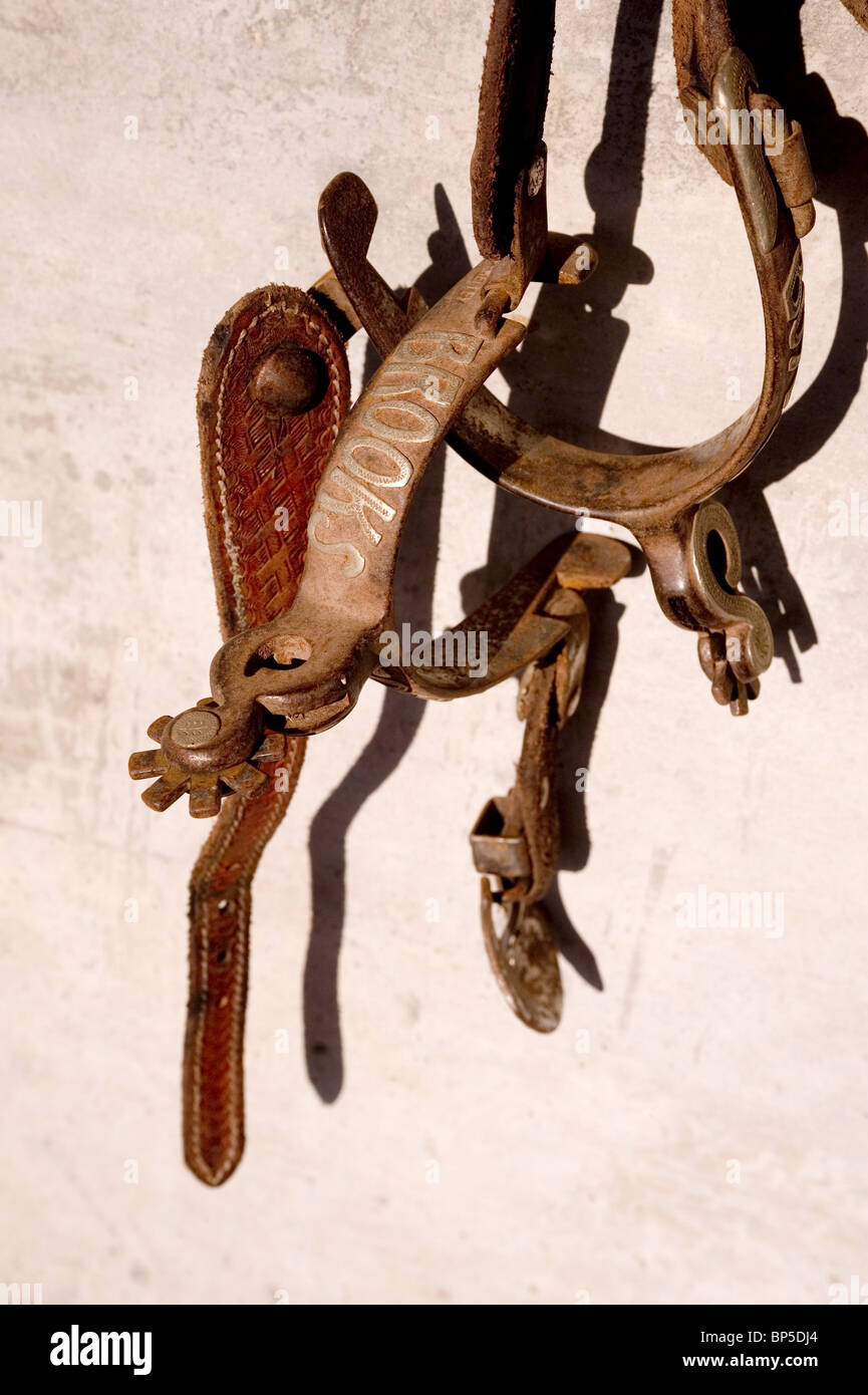 Western Spurs - Stock Image