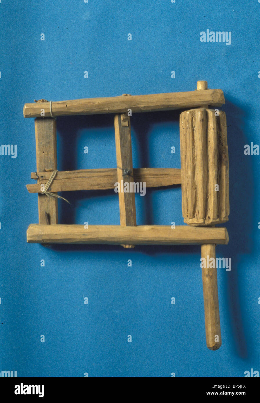 3892. PURIM NOISE MAKER, 'KLAPPER', USED IN CEREMONIES WHEN THE NAME OF HAMAN IS MENTIONED AND FOR MARYMAKING - Stock Image