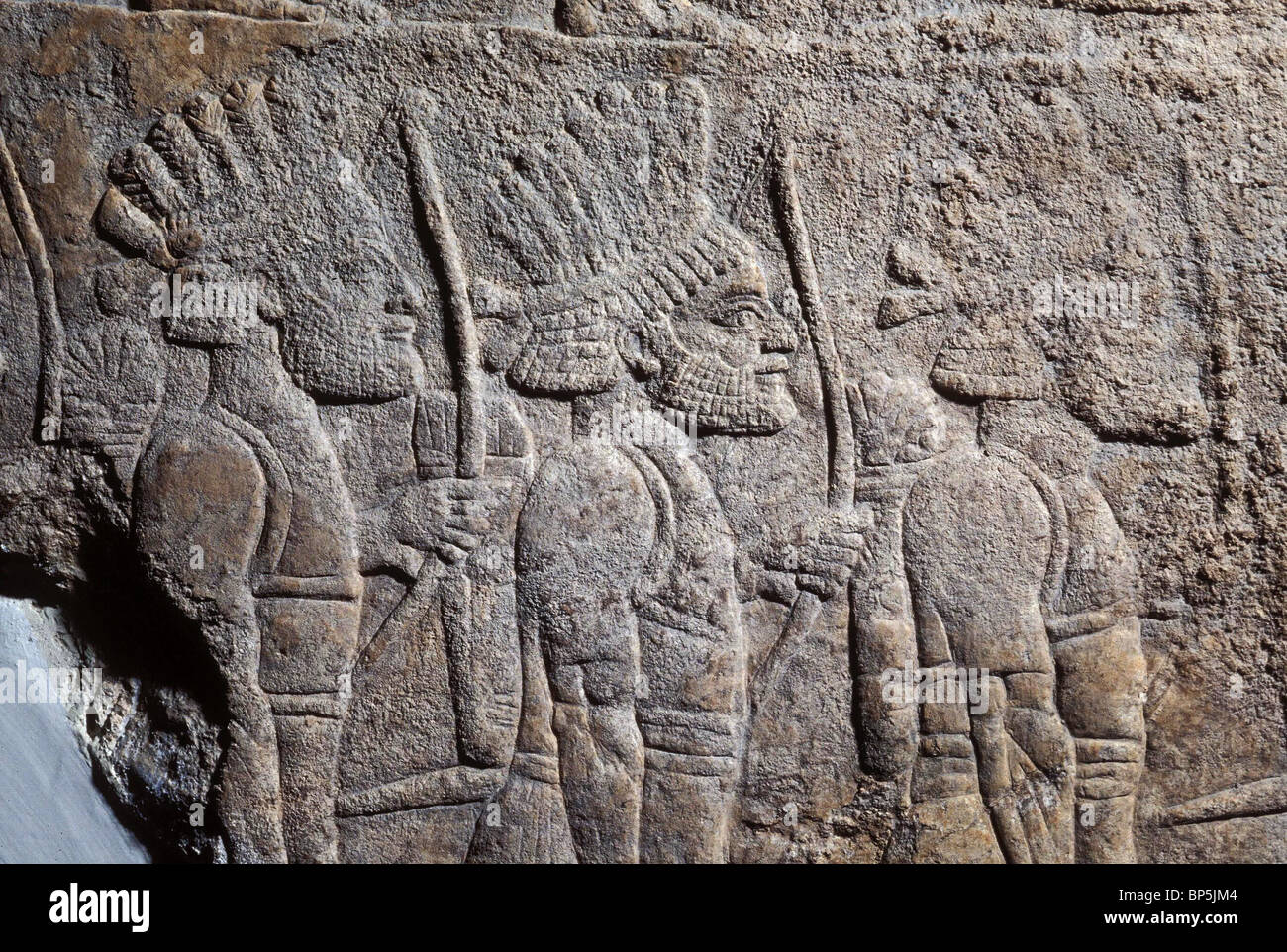 4059. ASSYRIAN ARMY MERCENARY TROOPS - Stock Image